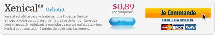 Xenical achat en ligne Canada